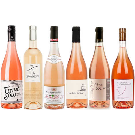 - 6 Assorted Rosés discovery pack