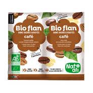 Nat-Ali - Bio flan non sucré parfum café