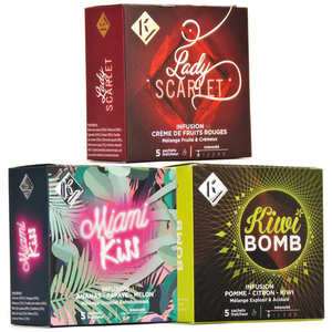 Ky Drinks - Offre découverte infusions aux fruits Ky Drinks
