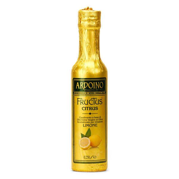 Huile d'olive extra vierge italienne Ardoino au citron frais