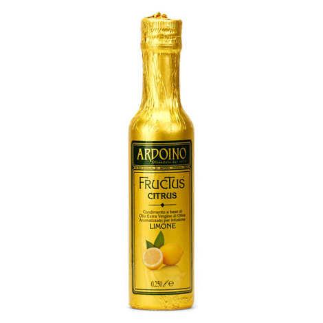 Ardoino - Huile d'olive extra vierge italienne Ardoino au citron frais