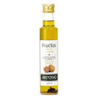 Ardoino - Huile d'olive extra vierge italienne Ardoino à la truffe blanche