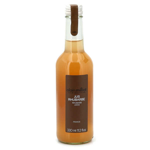 Red Rhubarb Juice - Alain Milliat