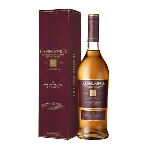 Glenmorangie Lasanta 12 years - Single Malt Whisky 43%