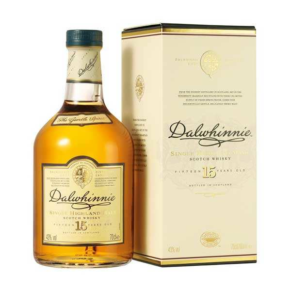 Whisky Dalwhinnie 15 ans - single malt 43%