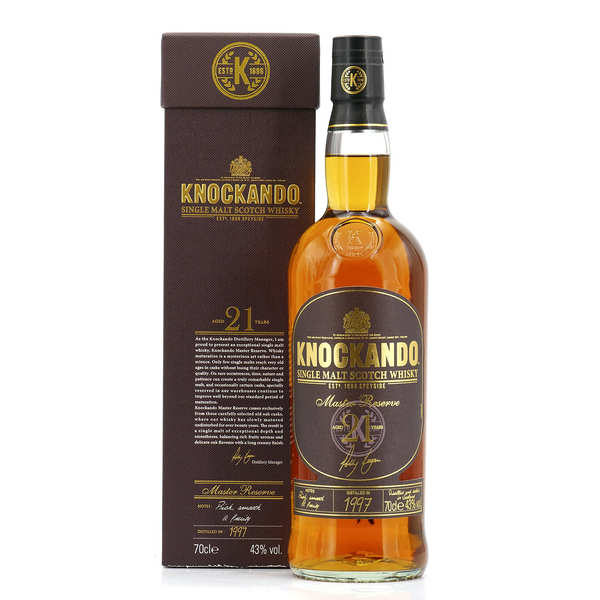 Knockando Master Reserve 21 years - Single Malt Whisky  43%