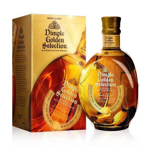 Dimple Golden Selection - blended whisky d'Ecosse 40%