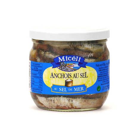 Conserverie Miceli - Anchois au sel