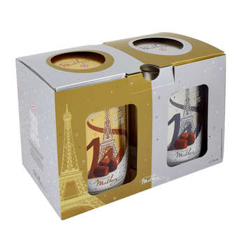 Chocolat Mathez - Duo of Chocolate and Salted Caramel Fantaisie Truffles