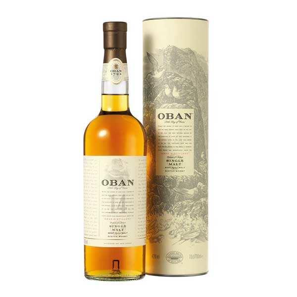 Oban 14 ans d'âge - single malt whisky 43%