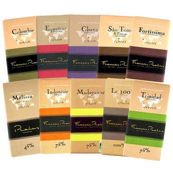 Chocolats François Pralus - Offre découverte tablettes de chocolat Pralus