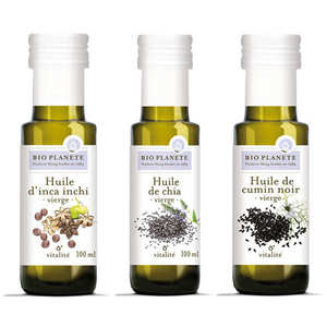 BioPlanète - Assortiment d'huiles BioPlanète