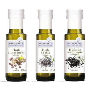 BioPlanète - BioPlanète organic oils assortment
