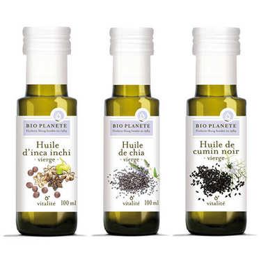 Assortiment d'huiles BioPlanète
