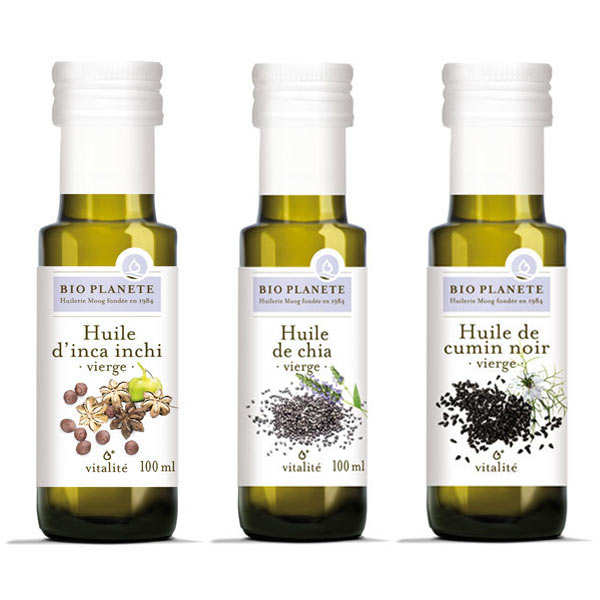 BioPlanète organic oils assortment