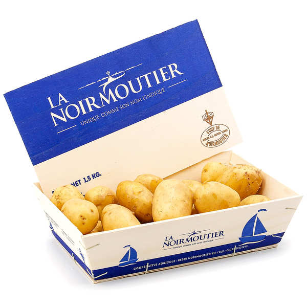 Fresh Noirmoutier Island Potatoes - Medium