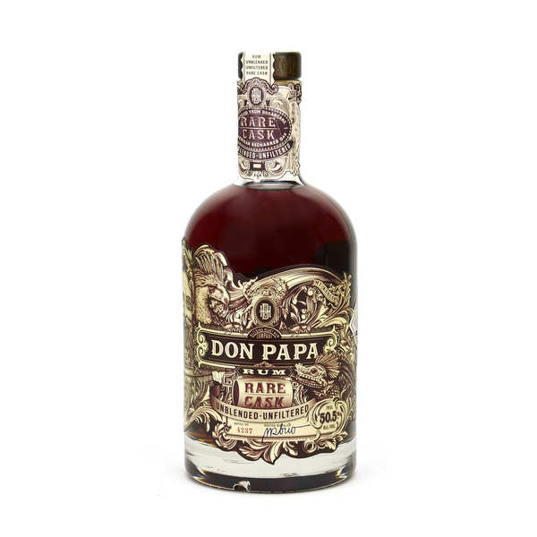 Don Papa Rare Cask - Small Batch Rum from the Philippines - 50.5%
