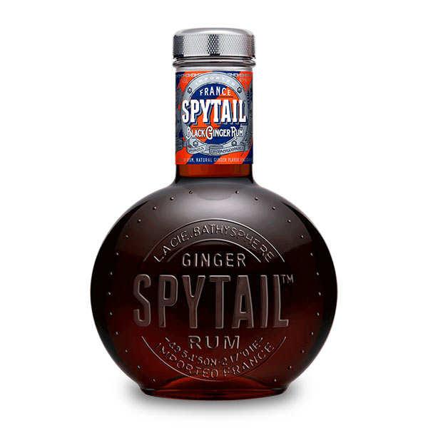 Spytail Black Ginger Rum 40% - Rhum épicé au gingembre