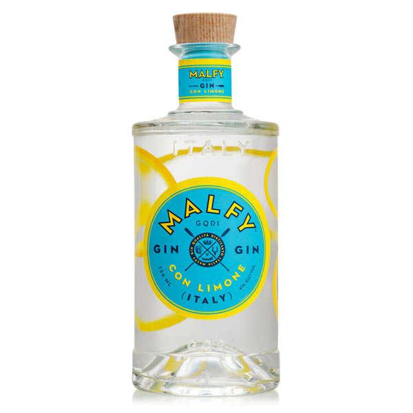 gin d'italie au citron 41% - bouteille 70cl