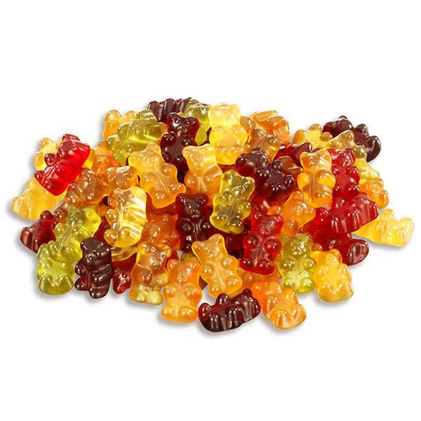 Bonbons oursons multi-fruits bio, vegan, sans lactose et sans gluten
