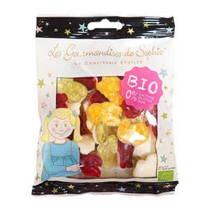 Les Gourmandises de Sophie - Bonbons animaux fruités bio sans lactose et sans gluten