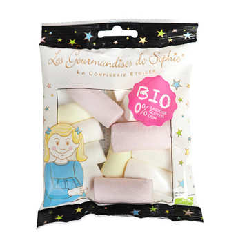 Les Gourmandises de Sophie - Organic Fruity Marshmallows - Lactose And Gluten Free