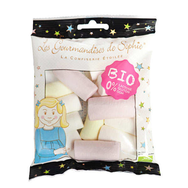 Organic Fruity Marshmallows - Lactose And Gluten Free