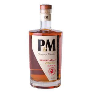 Distillerie Mavela - P&M 7 yo single malt whisky from Corsica 42%