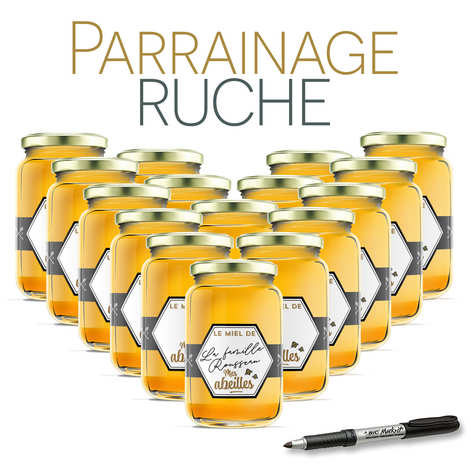 BienManger.com - Parrainer une ruche des Corbières miel romarin - récolte 2021