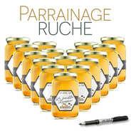 BienManger.com - Parrainer une ruche de l'Ariège miel d'acacia - récolte 2017