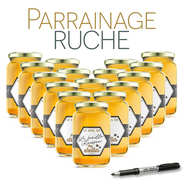 Sponsor a beehive - Acacia From Ariège Honey 2017