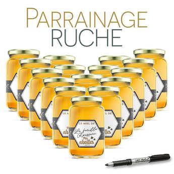 BienManger.com - Parrainer une ruche de l'Ariège miel d'acacia - récolte 2018
