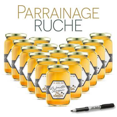 Parrainer une ruche de l'Ariège miel d'acacia - récolte 2018