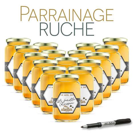 BienManger.com - Parrainer une ruche de l'Ariège miel d'acacia - récolte 2020