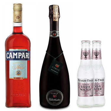 Kit de préparation du Spritz Campari