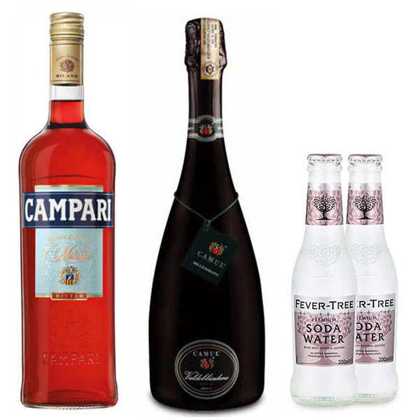 Spritz Campari cocktail kit