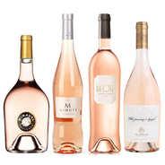 BienManger paniers garnis - 4 rosés prestige de Provence
