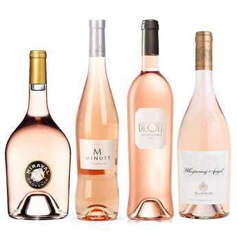 - 4 rosés prestige de Provence