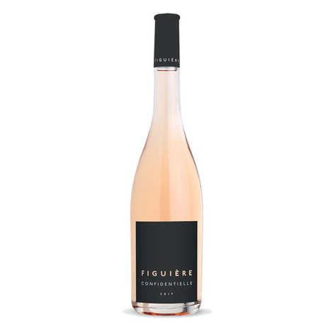 Figuière - Famille Combard - Figuière Confidentielle vin Rosé - Côtes de Provence La Londe bio