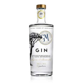 La grappe de Montpellier - Gin méditerranéen - La grappe de Montpellier 40%