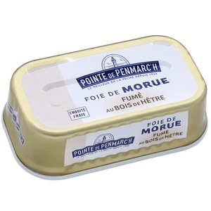 La pointe de Penmarc'h - Foie de morue fumé au bois de hêtre ou d'aulne