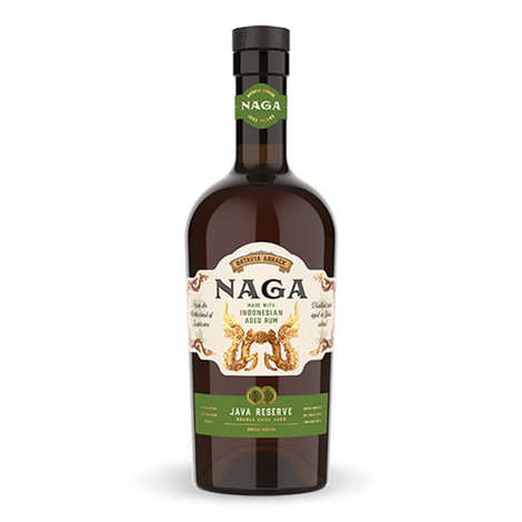 Naga Rum - Naga Rum Java Reserve - Rhum d'Indonésie 38%