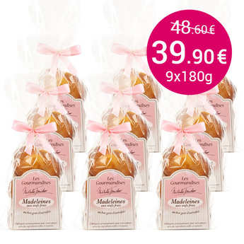 Mireille Faucher - 54 Traditional Madeleines - family-size pack