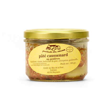 Produits du Causse - Pâté From Lozère With Juniper