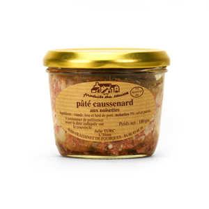 Produits du Causse - Pâté caussenard aux noisettes