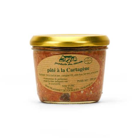 Produits du Causse - Pâté à la cartagène