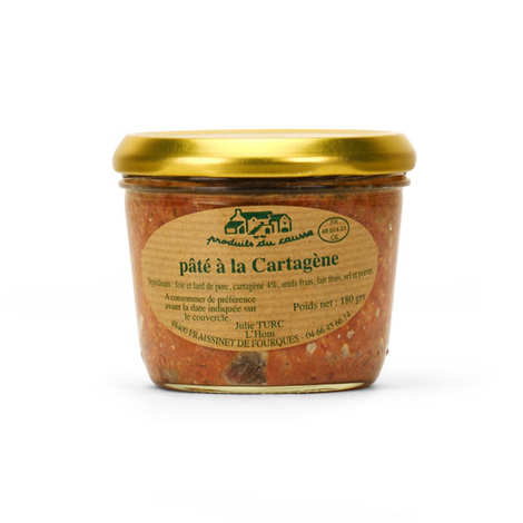Produits du Causse - Pâté With French Aperitif Cartagène