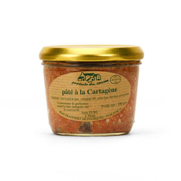 Pâté With French Aperitif Cartagène