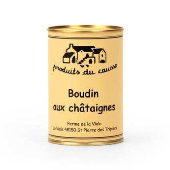 Produits du Causse - Boudin aux châtaignes