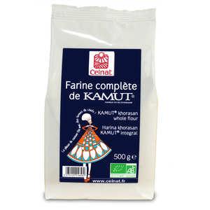 Celnat - Farine complète de kamut ® bio (blé de khorasan)